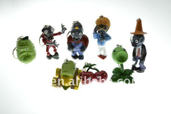 Pcs 8 nuevas plantas vs. Zombies figuras de colección