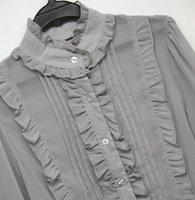 Женские блузки и Рубашки women's blouse Chiffon T shirt lace 1202086 s