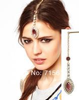 sheegior Чехия мода этнический стиль прикованный капля воды кристалл шпильки женщин Аксессуары для волос
