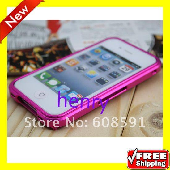 High Quality Blade metal Bumper Case for iphone 4 4s,Aluminum Bumper Frame Blade Case CoverFor iphone 4 4G 4Th 4s+ Free Shipping