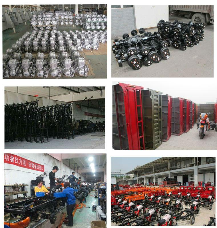 Trimoto/Dinghao three wheel cargo motorcycles