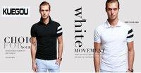 Мужская повседневная рубашка FASHION GRAY Slim Men short shirts stylish casual summer short sleeve shirt, by china post