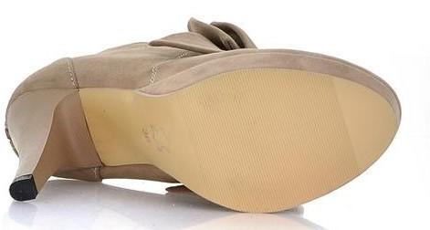 Туфли на высоком каблуке ,