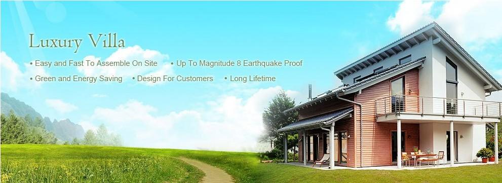 modular villa factory prices exterior wall siding house