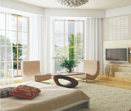 electric/ motorized custom window curtains