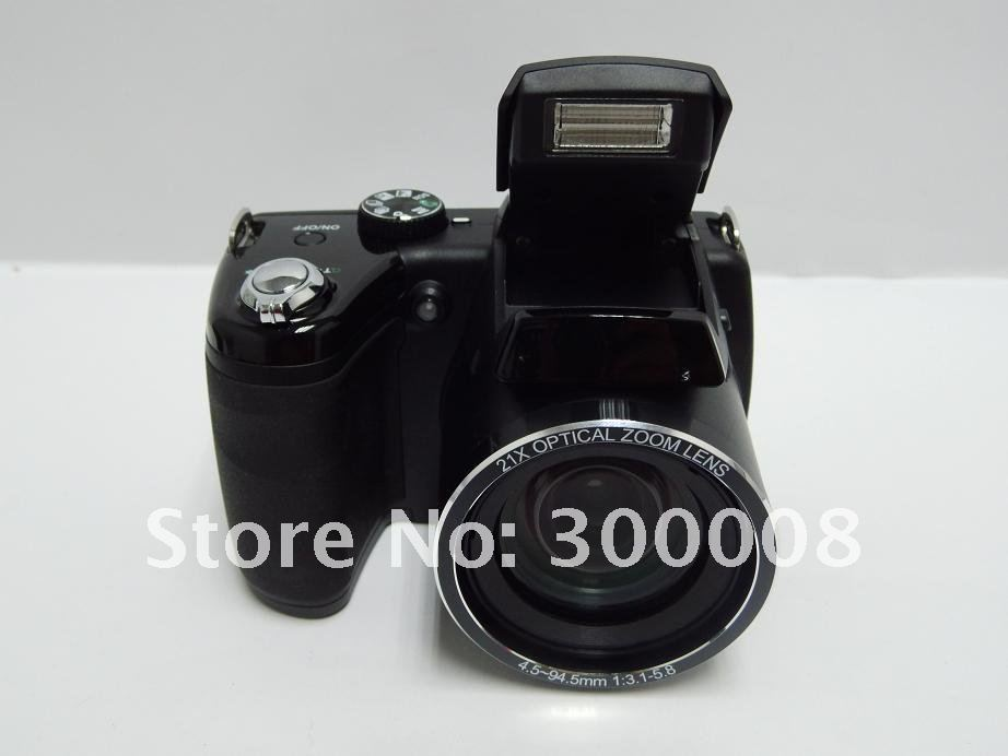 SLR digital camera with SONY 16mp sensor and 21x optical zoom,professional and reliable,drop ship