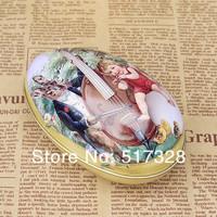 8 шт/много, 8 дизайн Яйцо пасхальное яйцо олова хранения железа коробки Свадебные конфеты коробка подарка размер 6,3 * 4.4 * 5,1 см