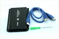 "2.5"" USB 3.0 SATA External Hard Drive HD Enclosure Case Box + USB Cable Portable"