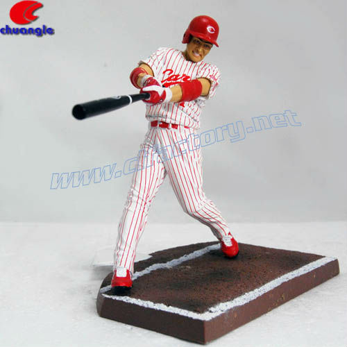 Japanese Resin Baseball Player Custom Action Figure