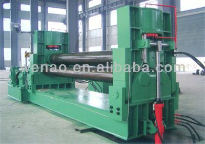 Hydraulic 3-roller symmetrical plate rolling machine
