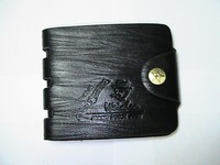 Free shipping,2013 fashion high quality men's leather purse/wallet men, black &brown, drop shipping, C014