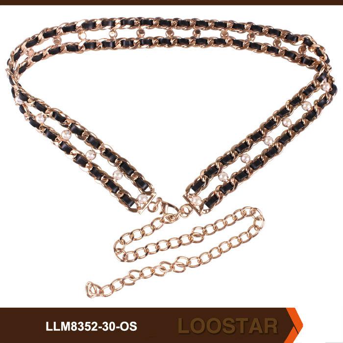 bead belt,fashionable belt,lady belt