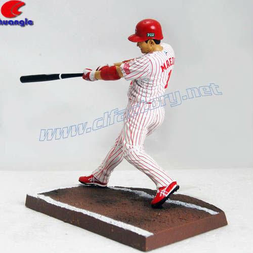 Japanese Resin Baseball Player Custom Action Figure