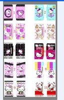 Чехол для для мобильных телефонов Newest Hello Kitty Wallet Leather Case For Samsuang Galaxy s3 siii i9300, with retail package, DHL/EMS 100PCS/LOT