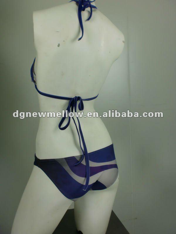 mujeres gordas bikini brand with digital sublimation