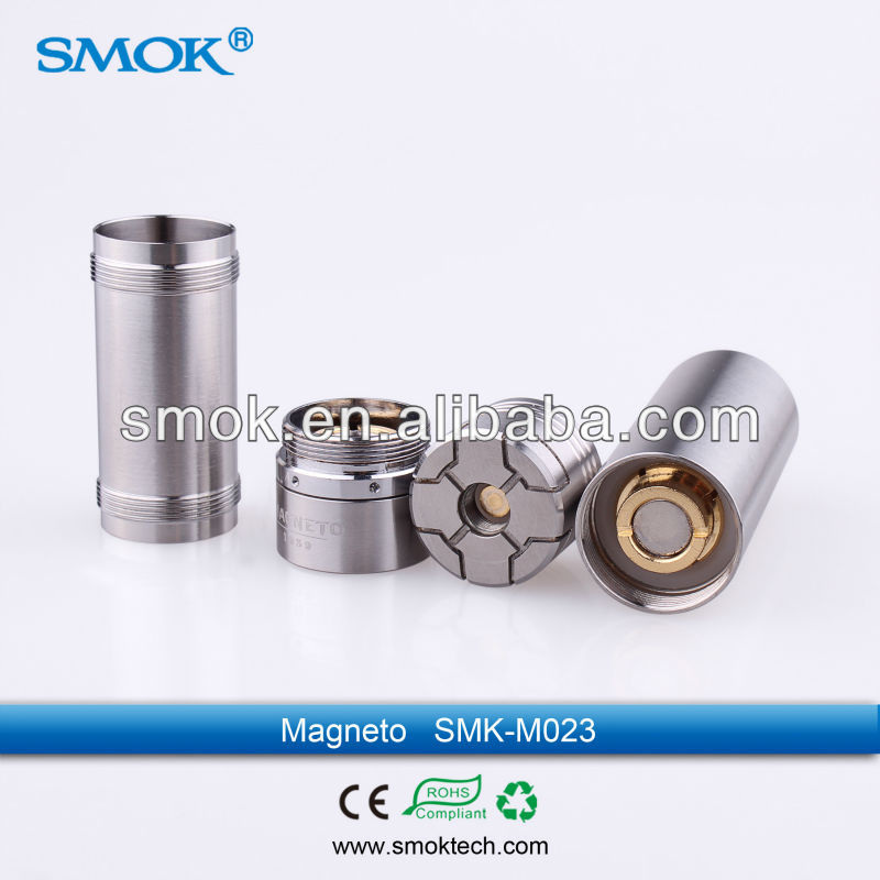 2014 Top mechanical magnetic e cigarettes 26650 mod