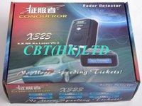 Охранная система 2012 New 100% original Conqueror X323 radar detector support X-Band ku-band k-band KA-Band Laser VG-2