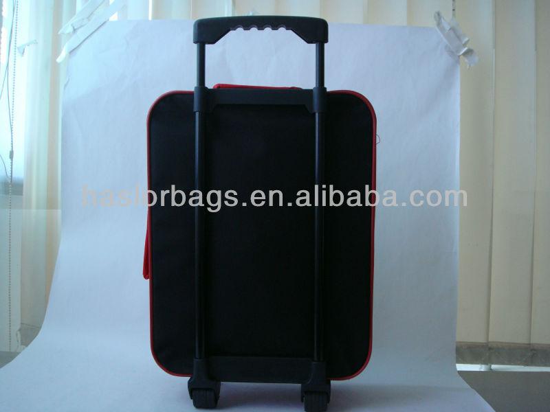 Enfants bagages voyage sacs avec chariot manches