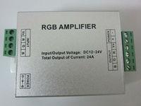 новые led rgb полосы усилитель dc12v-24v 24а привело rgb усилитель rgb полосы мощность ретранслятора консоли controle