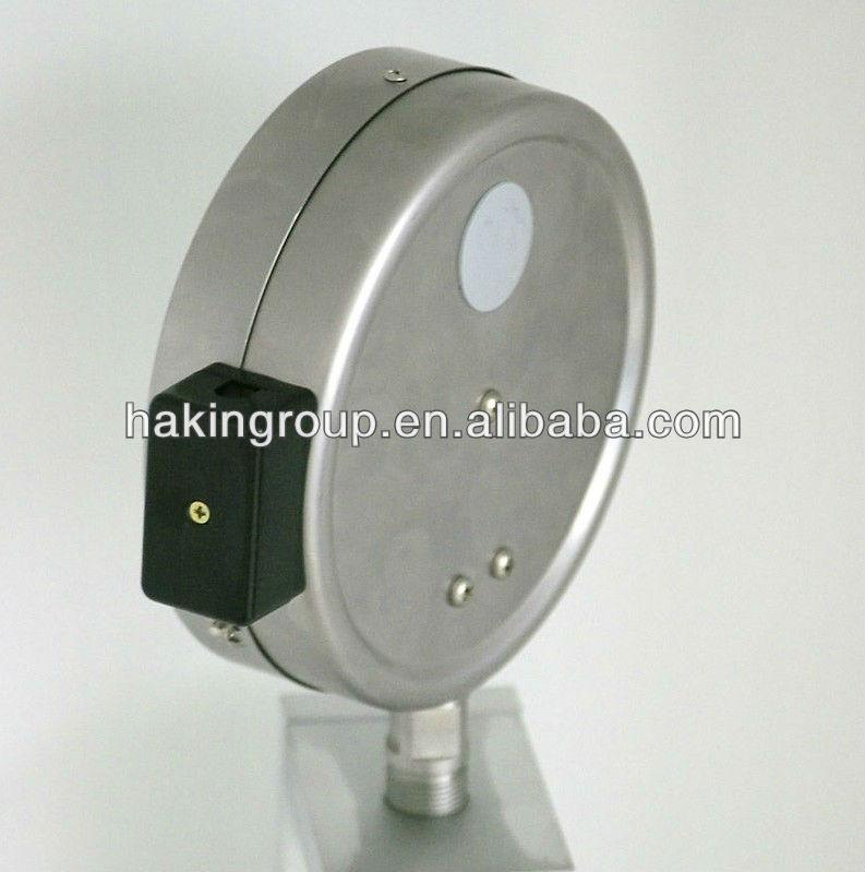 الصدمة الفولاذ المقاوم للصدأ-- مقاومة السائل قياس الضغط معبأ