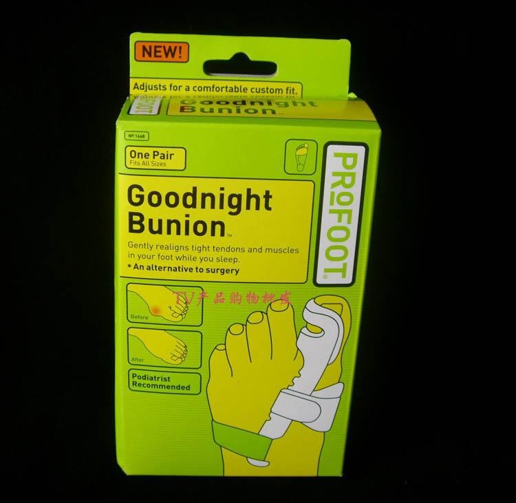 Инструменты по уходу за ногами Goodnight Bunion 4 = 2pairs/! Profoot , TV GB03