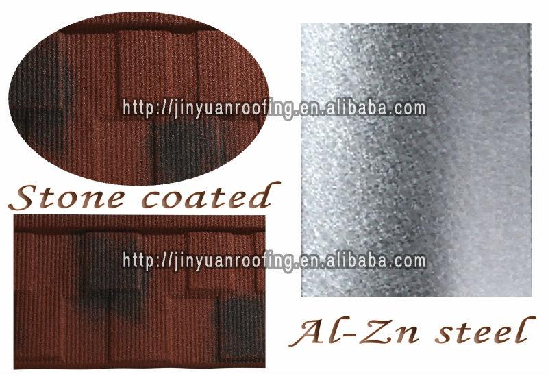 Elegant type metal roof shingle