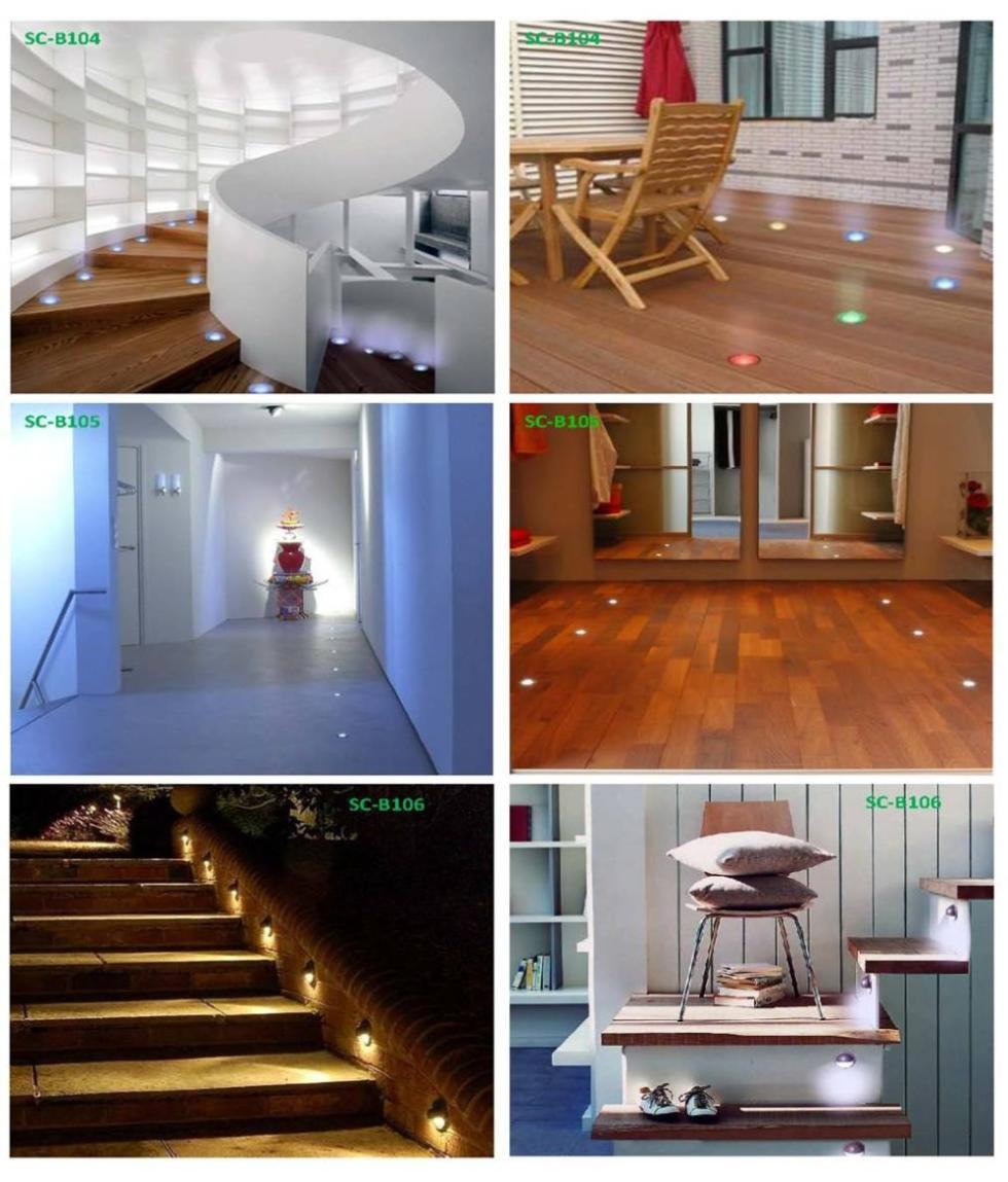 12V LED Night Floor Lamp Interior Recessed Light – Wholesale 12V LED ...