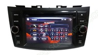 car dvd player For SUZUK Iswift  with gps   radio receiving