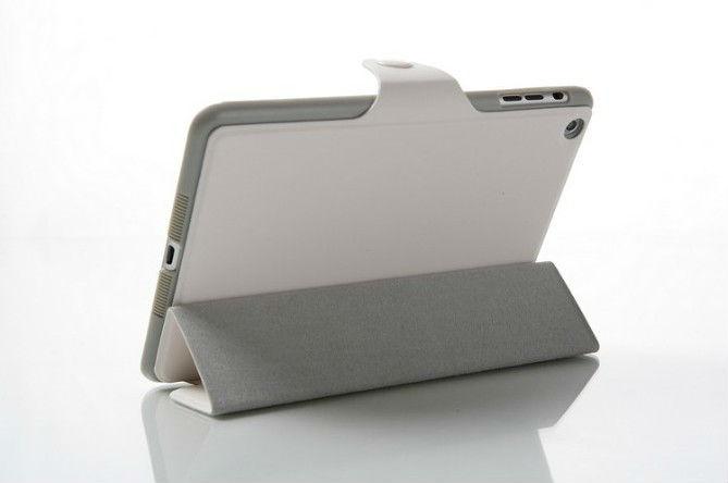 Fashionable Tri-Fold PU Leather Case Cover For iPad Mini Smart Function