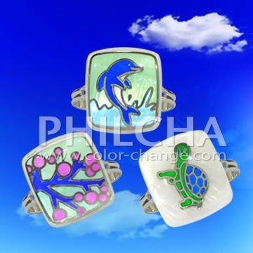 Stylish Mood Stone Adjustable Finger Rings