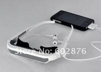 Домашний кинотеатр 72-inch Virtual Screen Video Glasses for iPhone4S, iPhone, iPad, iPod