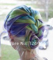Новые прибыл 10 комплектов 32 набор цветов в продаже временные волос цвет красителя пастелью ошибка руб., заказ микс