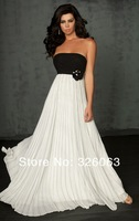 Вечернее платье 2013 Popular Fashion Sheath Chiffon Floor-length Strapless Multi Colours Prom/Evening Dresses