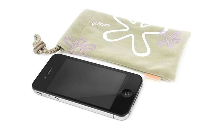 Colors design waterproof carry bag for iphone 4