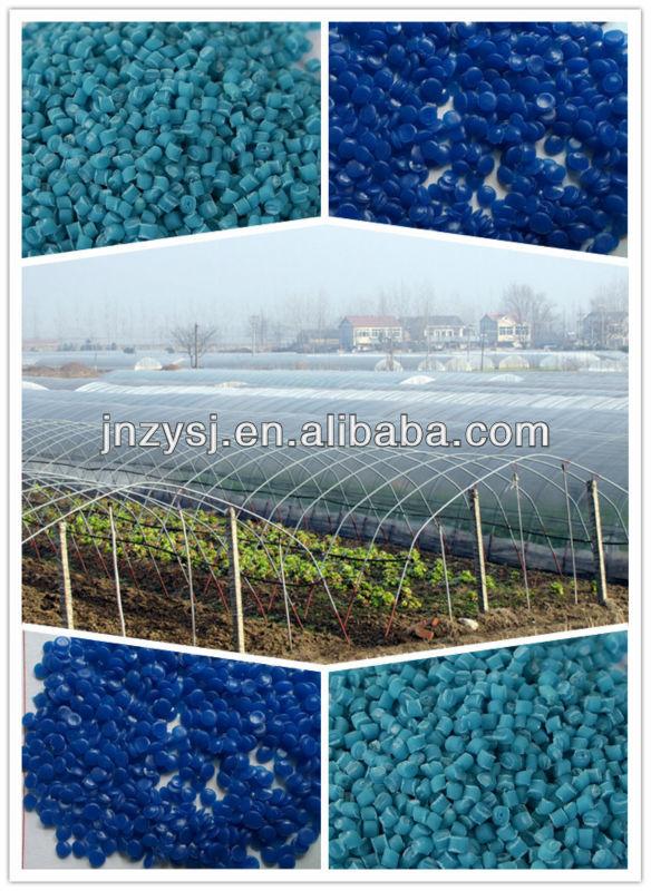 Agricultural plastic tunnel film fog assemble prevent and plastic film longevity masterbatch