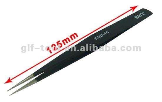 ESD-14 Diamagnetic Antistatic Antiacid Tweezers for Mobile Repair Tools