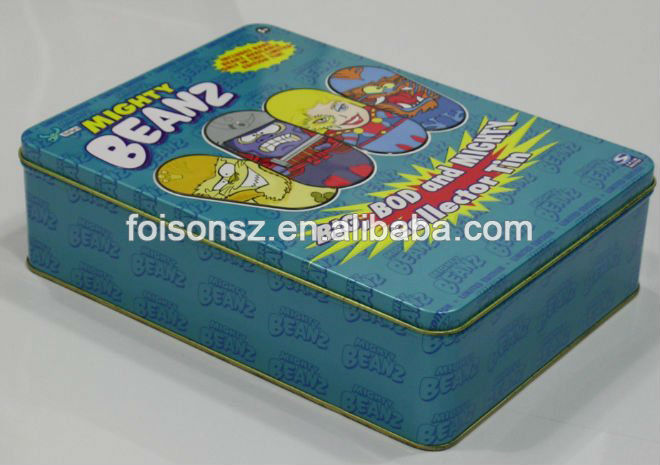colorful rectangular aluminum box