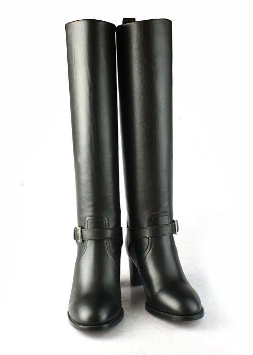 Женская высокие кожаные сапоги оптом - Купить оптом