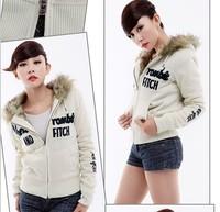 Женские толстовки и Кофты Faux fur lining women's winter warm fur jacket clothes Sweater Fur Hoodies & Sweatshirts Jacket Coat 2198