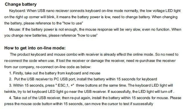 2.4G full bamboo wireless keyboard - laptop keyboard stickers