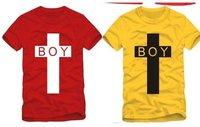 Одежда и Аксессуары shoping Fashion London boys printing loose Tshirt TB 1985