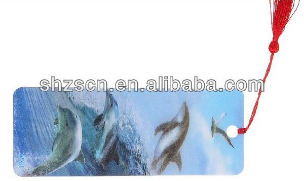 3D Lenticular Bookmark