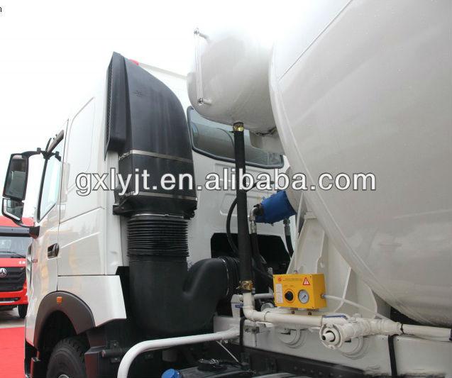 SINOTRUK HOWO T7H 6X4 concrete mixer truck (ZZ5257GJBN404HD1)