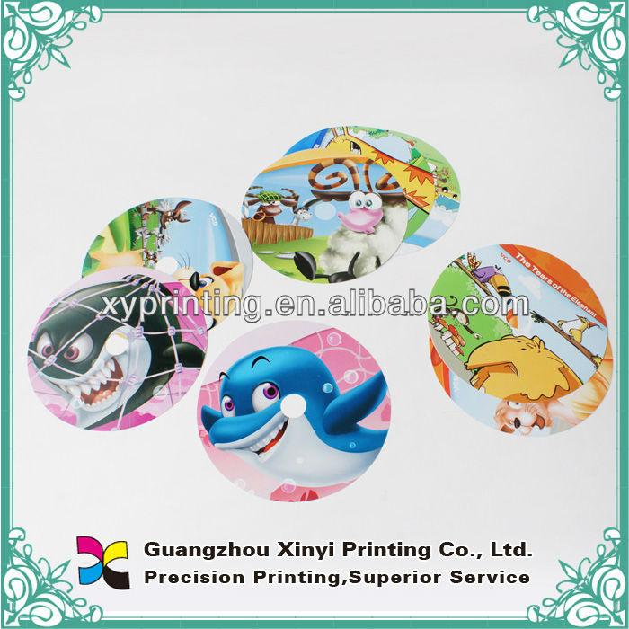 2014 Recém impressão à prova d' água adesivo personalizado impressão do logotipo da etiqueta