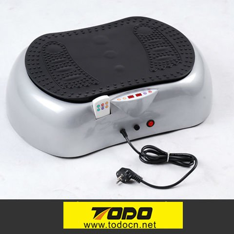 Best selling 2000W Whole Body Vibration Fit Massage Crazy Fit Massager with MP3/IPOD oscillating machine