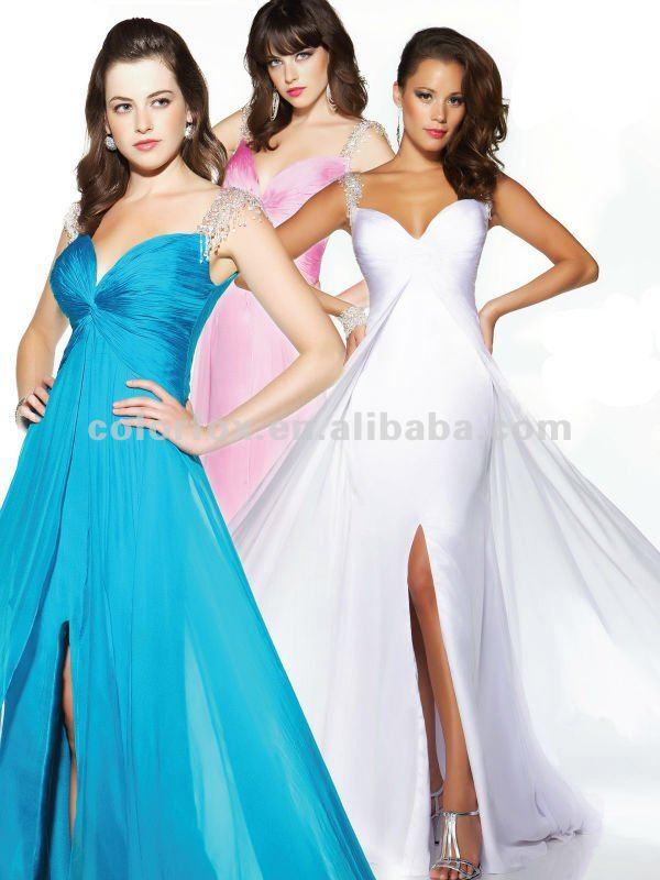 Colourful Off The Shoulder Wedding Dresses - Wedding Dresses