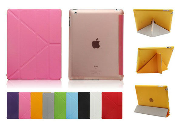 attractive case for ipad ,housing case for ipad stand case