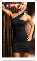 FREE SHIPPING! 2012 New Sexy dress,Evening dresses,Club wear,Cocktail dress,Unused,One Size,Ann9097,Pink