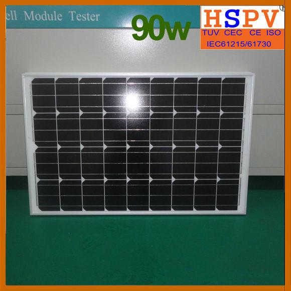 Mono 100w 12v Solar Module
