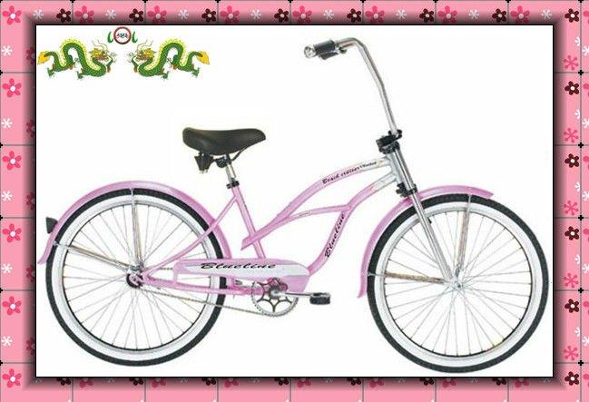 pink children beach cruiser chopper bikes,coaster brake chopper beach cruiser